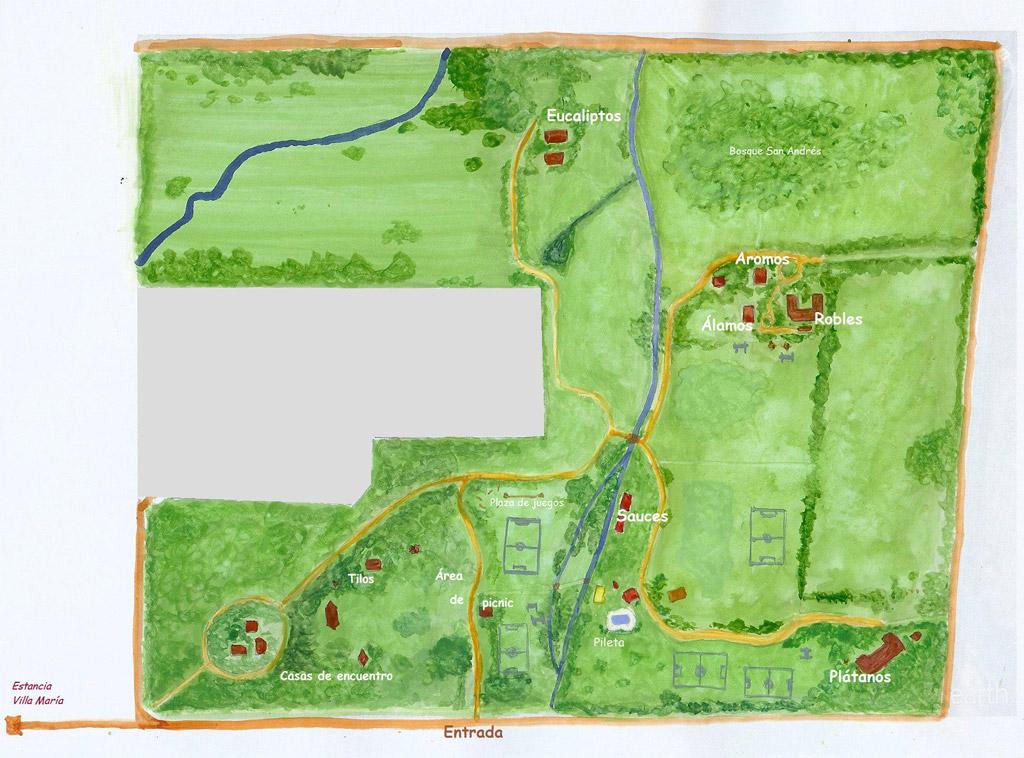 Plano del Parque